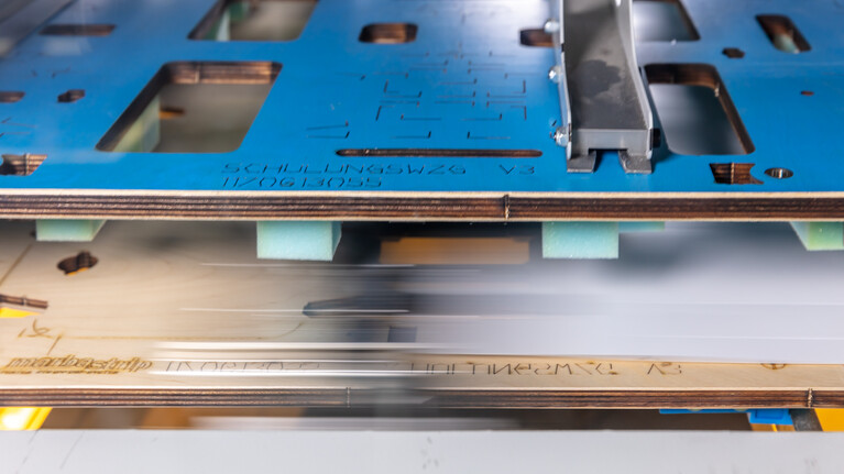 marbastrip stripping tool in use in the die-cutting machine | © Marbach Group