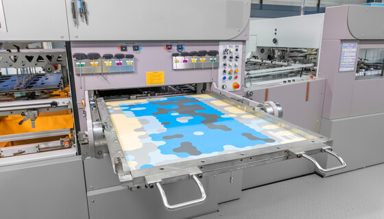 The digital zone levelling is individually adapted to the respective die-cutting machine and compensates for its height tolerances. | © Marbach Group