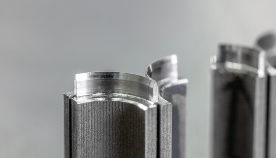 Custom-made cutting elements of steel with precise contours | © Marbach Group