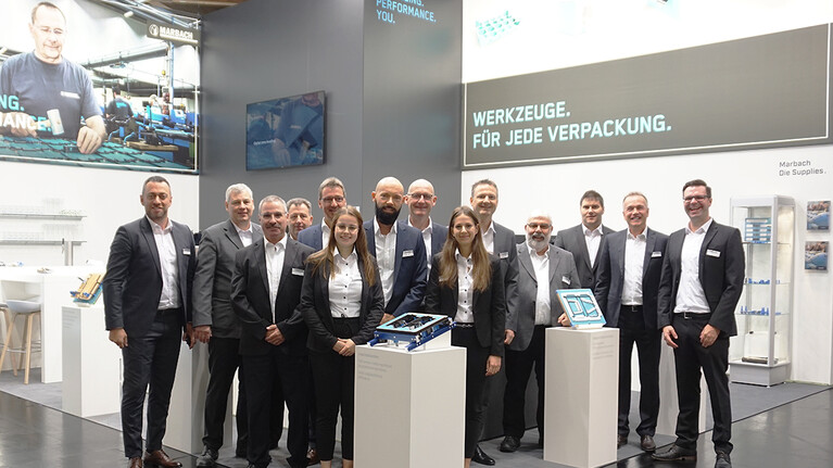 Marbach FachPack Stand Team 2019