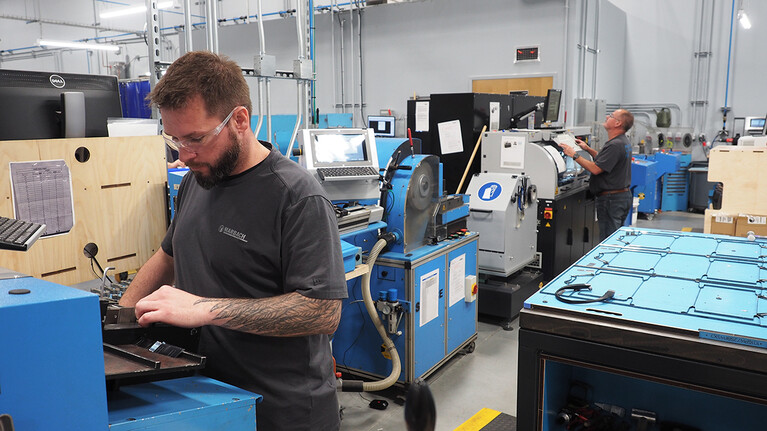 Cutting-die Production at Marbach America in Michigan City  | © Marbach Group