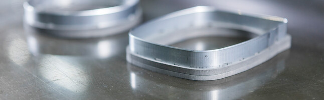 The Silverline 23.8 steel-rule with floating knives provides a long tool life for Marbach thermoforming tools through a lower need of cutting force