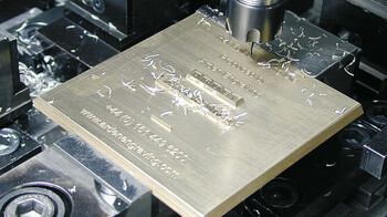 Marbach brass embossing