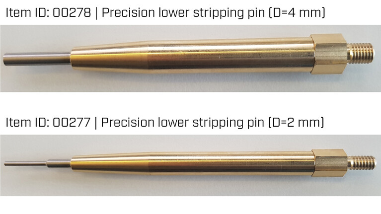 Precision lower stripping pin | Marbach Die Supplies | © Marbach Group