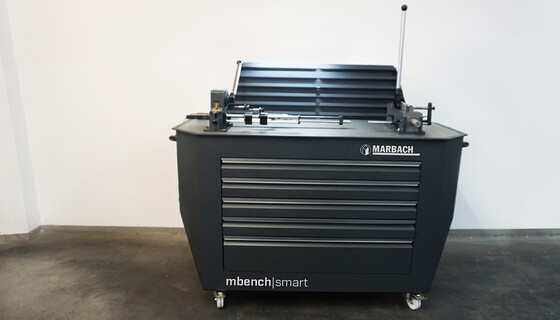 Maximum flexibility and efficiency: with the mobile repair workstation mbench|smart. | © Marbach Group