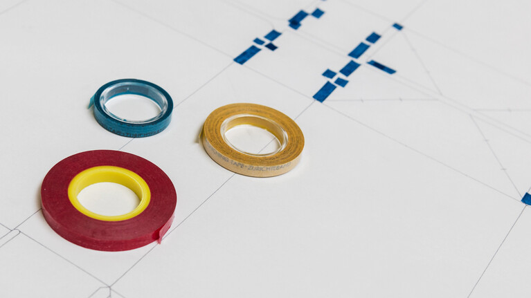 die-cutting make-ready tape