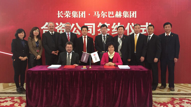 Joint Venture Marbach Masterwork China.