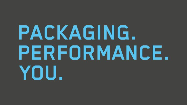 Packaging. Performance. You. The new Marbach Slogan.