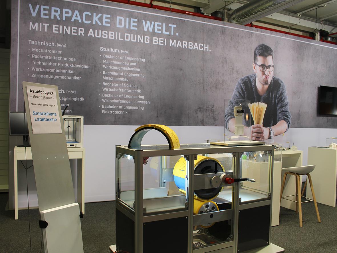 marbach auf der bildungsmesse in heilbronn 2018. Black Bedroom Furniture Sets. Home Design Ideas