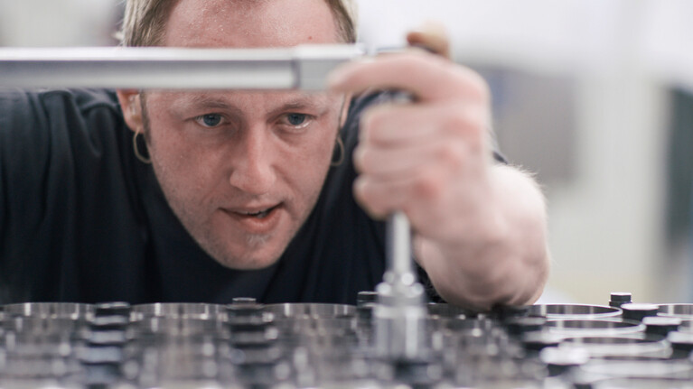 Marbach's thermoforming tools are assembled by highly skilled tool experts