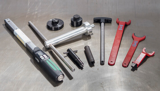 Marbach's toolmaster kit provides tools for a quick and easy assembly of Marbach thermoforming tools